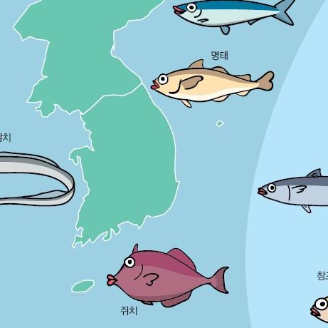 우리나라 어획량의 변화 추이