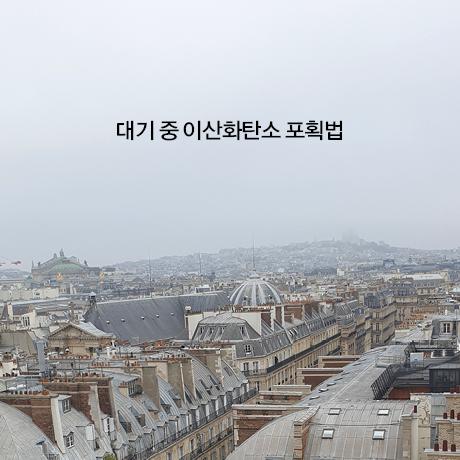 대기 중 이산화탄소 포획법, 파리의 실험