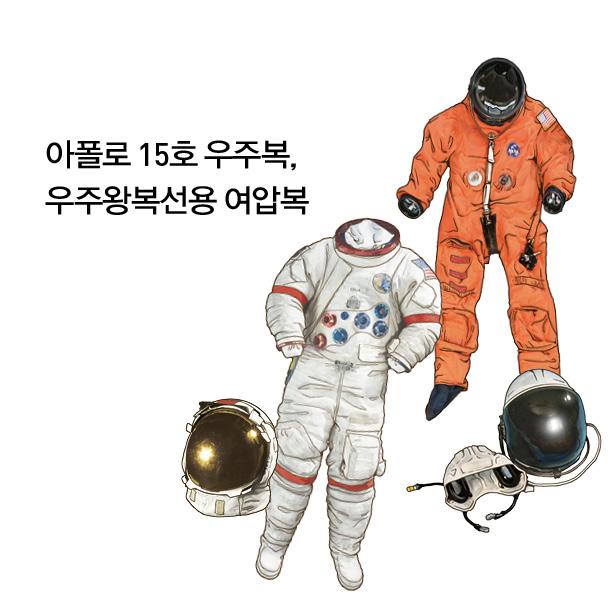 아폴로 15호 우주복, 우주왕복선용 여압복