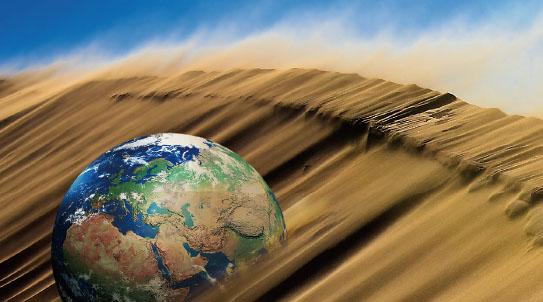 브레이크 없는 사막화 기후 양극화 부른다