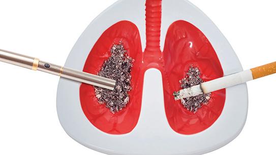 전자담배도 간접흡연 위험 있다