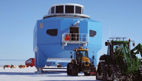 [포토 뉴스] 남극연구소는 이사 중