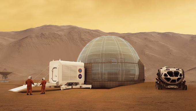 [Future] 최초의 화성 집, 물로 짓는다