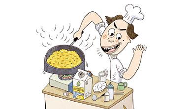 Part 2. [디저트] 신선한 인공 우유와 인공 달걀로 만든 달콤한 쿠키