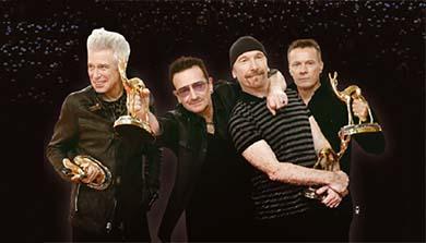 [DJ CHO의 롤링수톤] U2의 'Sunday, Bloody Sunday' 집게발 무대의 정체