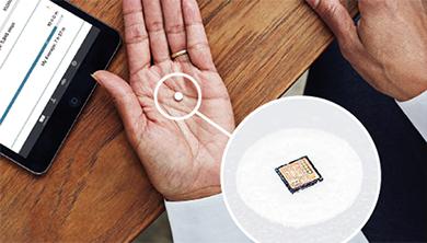 [포토뉴스] FDA 첫 승인 받은 센서 탑재 디지털 알약