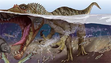 [공룡은 왜?] 날카로운 발톱과 긴 주둥이로 휙휙! 바리오닉스의 비밀