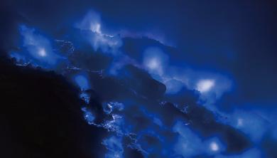 [쇼킹 사이언스] 아름답지만 치명적인 푸른 용암