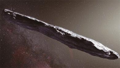 [과학뉴스] 태양계 밖에서 온 소행성 첫 관측!
