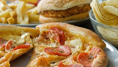 [과학뉴스] 햄버거, 피자 좋아하면 만성 염증 생긴다