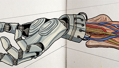[팔과 다리 만들기] 팔 이식, 전자의수 무엇을 원해요