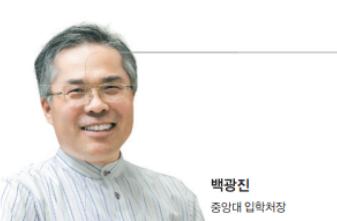 """백광진 중앙대 입학처장 - """"소프트웨어 특화, 성장 잠재력이 중요"""""""