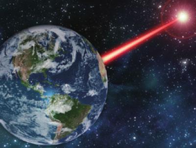 레이저 쏘아 외계인 찾는다!