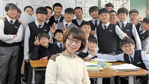 [스타쌤의 수학 공부꿀팁] 부평동중학교 김정란 선생님, 새 가족이 생기는 수학 시간