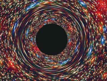 우주의 특별한 공간, 블랙홀