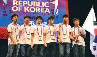 [수학뉴스] 한국 대표팀, IMO 3위!  참가자 6명 모두 금메달 획득