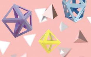 [수학 체험실] 삼각다면체 종이접기
