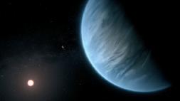 [과학뉴스] 외계 행성에서 수증기 존재 가능성 발견