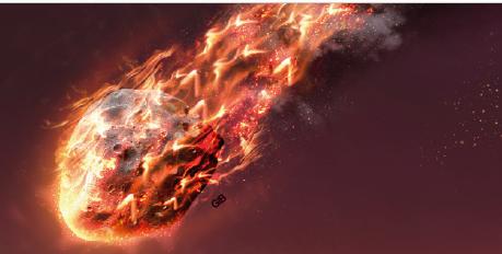 [충돌 D-DAY] 소행성의 파편이 떨어진다!
