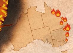 [호주 산불] 꺼지지 않는 '지독한 불'